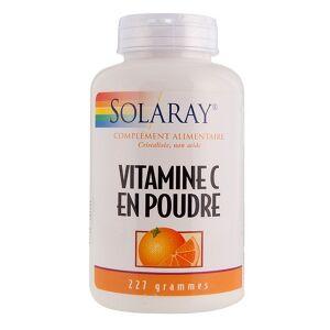 Solaray Vitamine C en poudre, non acide - 227 g La vitamine C en poudre est un très bon antioxydant, elle redonne du tonus et de la vitalité.