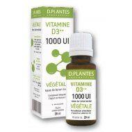 d plantes D.plantes Vitamine D3++ huile végétale 1000 UI - Flacon 20ml 1000 UI, une nouvelle formule encore plus concentrée ! issu du lichen