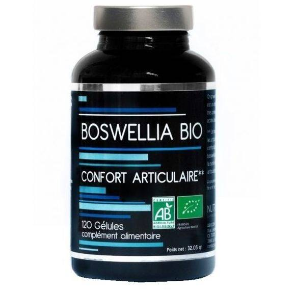 Nutrivie Boswellia Bio 60 gélules Confort articulaire
