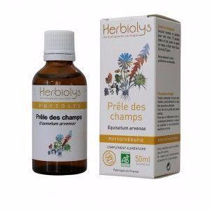 Herbiolys Prêle des Champs 50ml Bio Extrait de plante bio, fraiche (non surgelé).