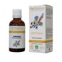 Herbiolys Artichaut Bio 50ml Extrait de plante bio, fraiche (non surgelé).