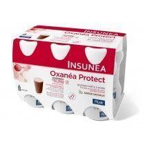 pileje Insunea Oxanéa Protect - Boisson Chocolat 4 X 100ml Riche en protéines, antioxydante et enrichie en 3 extraits végétaux