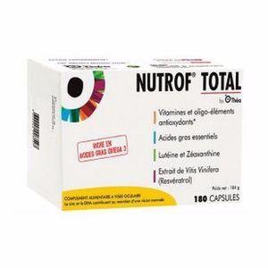 thea Nutrof total capsules boite de 180 capsules Complément alimentaire à visée oculaire