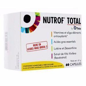 thea Nutrof total capsules boite de 60 capsules Complément alimentaire à visée oculaire