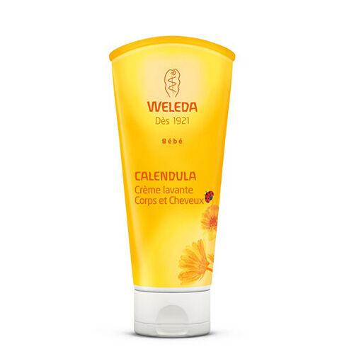 Weleda Crème lavante Corps et Cheveux au Calendula 2 x 200 ml