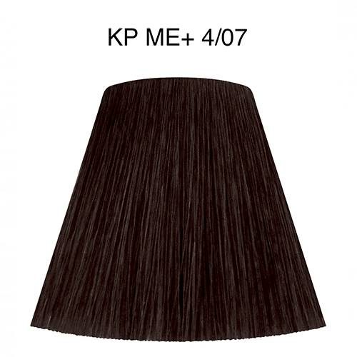 Wella Coloration Koleston Perfect ME+ 4/07 Châtain Naturel Marron