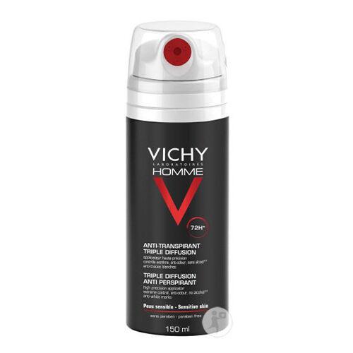 Vichy Déodorant Homme Anti-Transpirant Triple Diffusion 72h Vichy