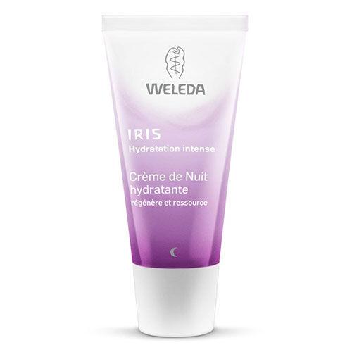 Weleda Crème de Nuit hydratante à l'Iris
