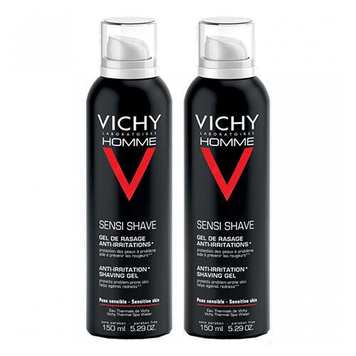 Vichy Gel de Rasage Anti-irritations Vichy Homme 2x150ml