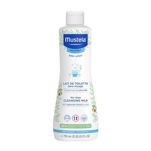 Mustela Lait de Toilette Sans Rinçage Avocat Bio 750ml