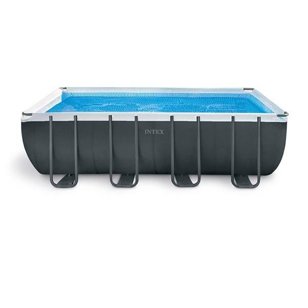 Intex Piscine tubulaire Ultra XTR - Rectangulaire - 5,49 m x 2,74 m x 1,32 m - Intex - Piscine tubulaire
