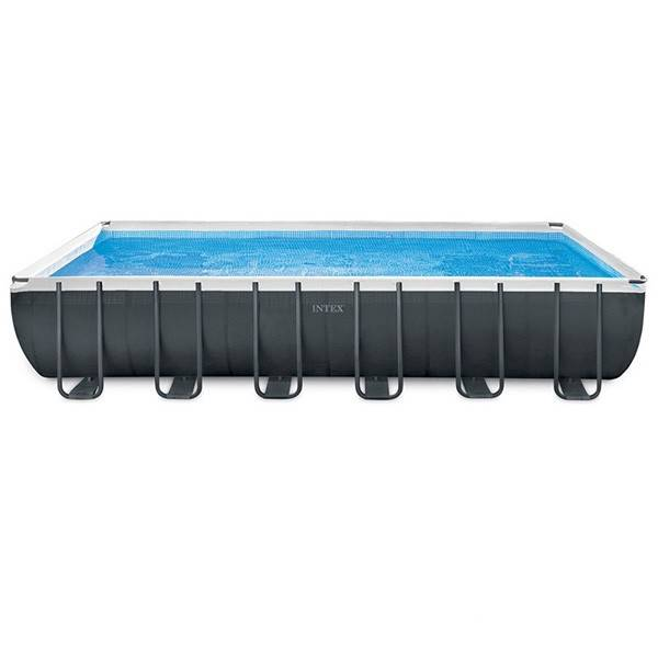 Intex Piscine tubulaire Ultra XTR - Rectangulaire - 7,32 m x 3,66 m x 1,32 m - Intex - Piscine tubulaire