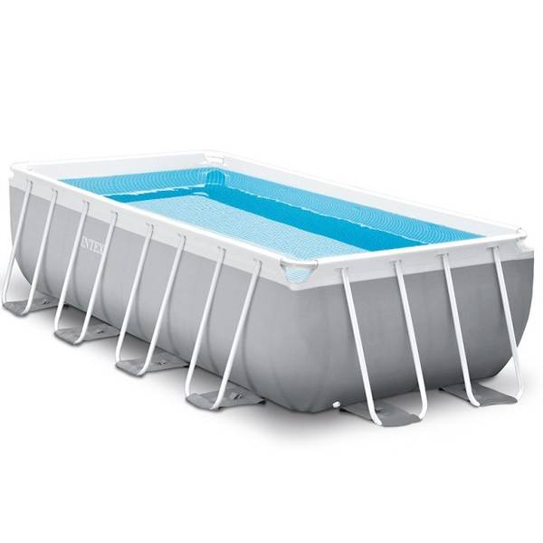 Intex Piscine tubulaire Prism Frame - Rectangulaire - 4,88 m x 2,44 m x 1,07 m - Intex - Piscine tubulaire
