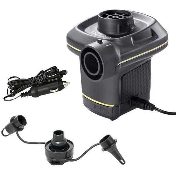 Intex Gonfleur électrique 12-220V - Prise allume cigare - Intex - Jeux piscine