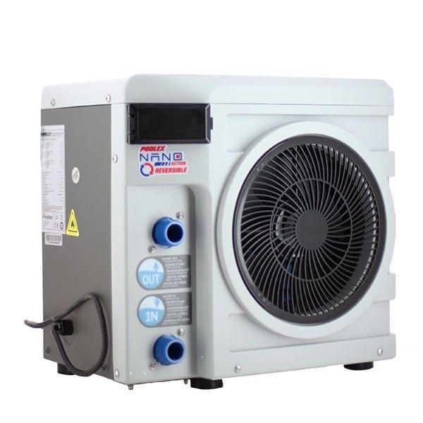 Poolex Nano Action - R32 - 4 KW - Réversible - Poolex - Pompe à chaleur piscine