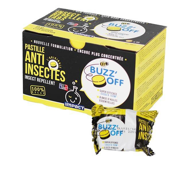 Générique Buzz'off - Générique - Anti-insecte