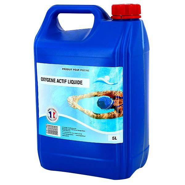 Swimmer Produits chimiques Oxygène actif liquide - 1x5L - Swimmer