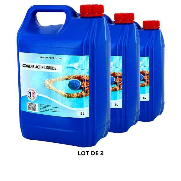 Swimmer Produits chimiques Oxygène actif liquide - 3x5L - Swimmer
