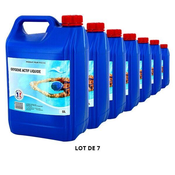 Swimmer Produits chimiques Oxygène actif liquide - 7x5L - Swimmer