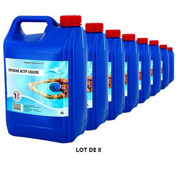 Swimmer Produits chimiques Oxygène actif liquide - 8x5L - Swimmer