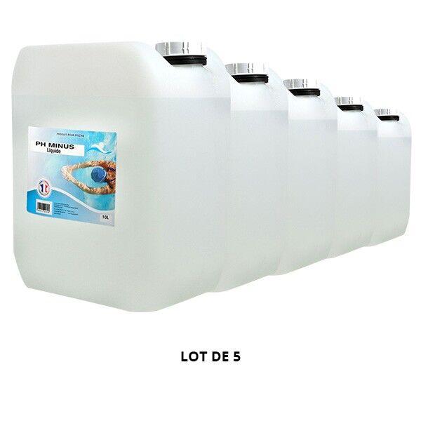 Swimmer Produits chimiques pH Minus liquide - 5x10L - Swimmer