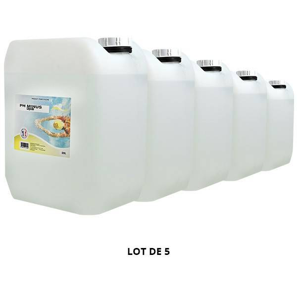 Swimmer Produits chimiques pH Minus liquide - 5x20L - Swimmer