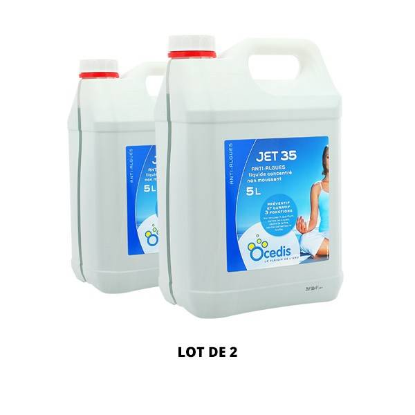 Ocedis Produits chimiques Jet 35 Anti-algues - 2x5L - Ocedis