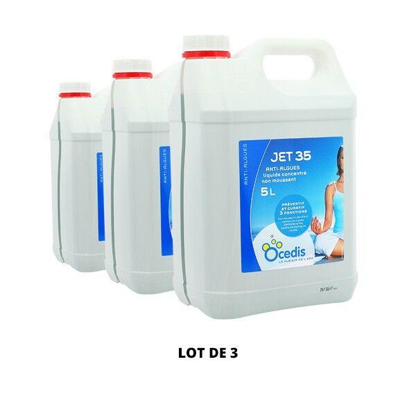 Ocedis Produits chimiques Jet 35 Anti-algues - 3x5L - Ocedis