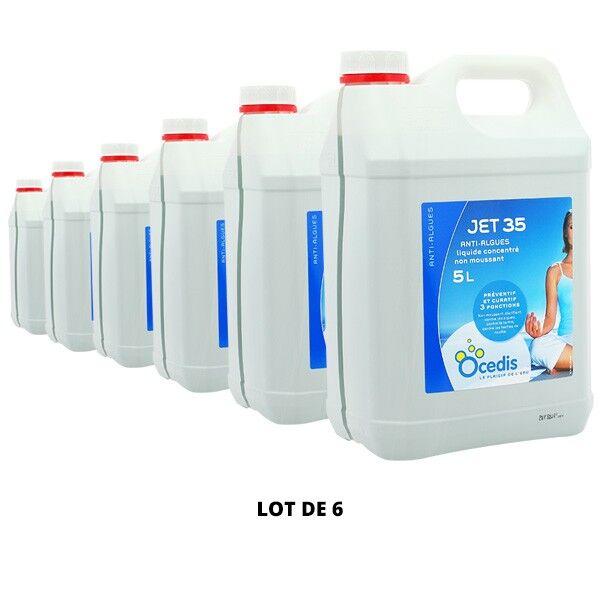 Ocedis Produits chimiques Jet 35 Anti-algues - 6x5L - Ocedis