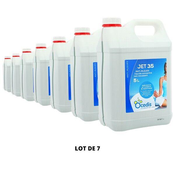 Ocedis Produits chimiques Jet 35 Anti-algues - 7x5L - Ocedis