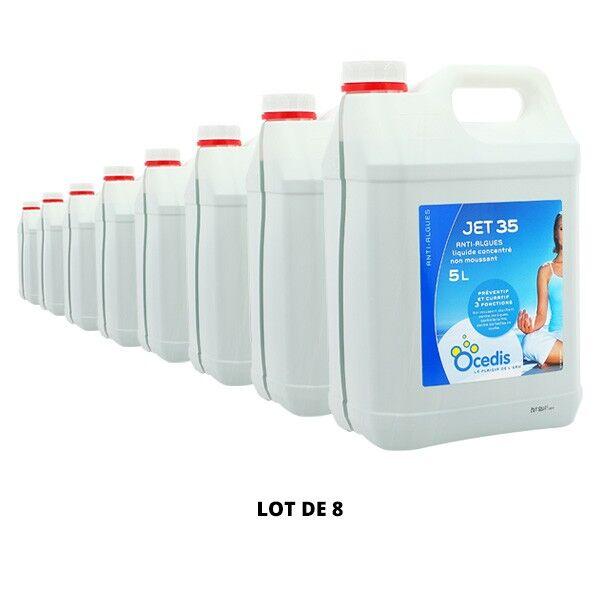 Ocedis Produits chimiques Jet 35 Anti-algues - 8x5L - Ocedis