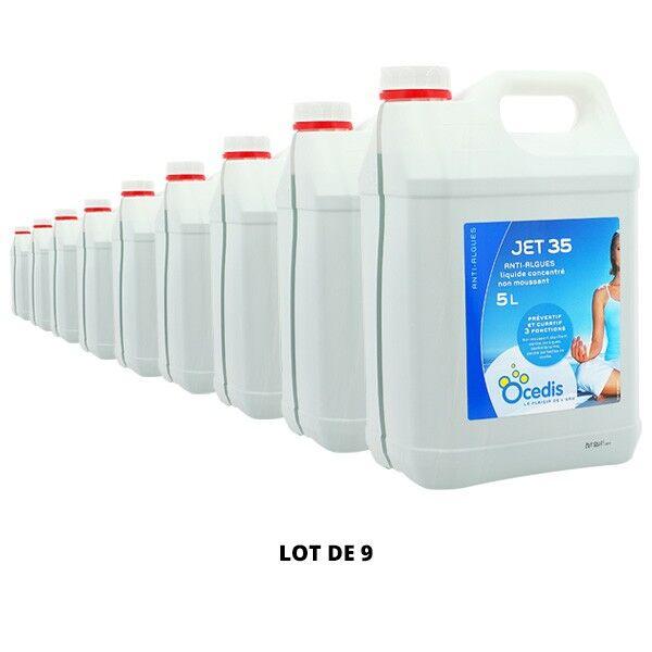 Ocedis Produits chimiques Jet 35 Anti-algues - 9x5L - Ocedis