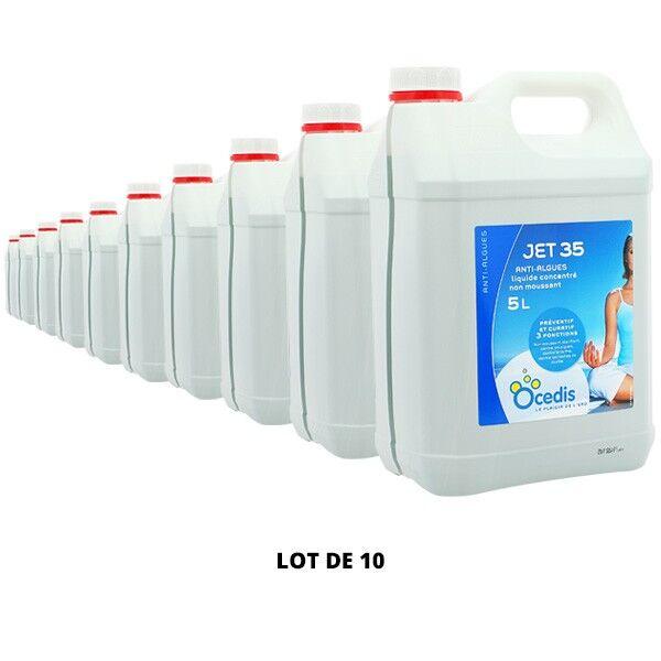 Ocedis Produits chimiques Jet 35 Anti-algues - 10x5L - Ocedis