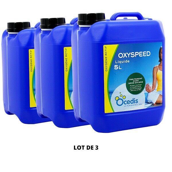 Ocedis Produits chimiques Oxyspeed liquide - 3x5L - Ocedis