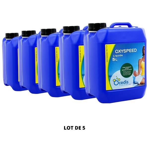 Ocedis Produits chimiques Oxyspeed liquide - 5x5L - Ocedis