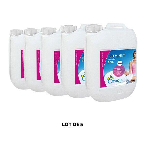 Ocedis Produits chimiques Ph Minus liquide 50% - 5x20L - Ocedis