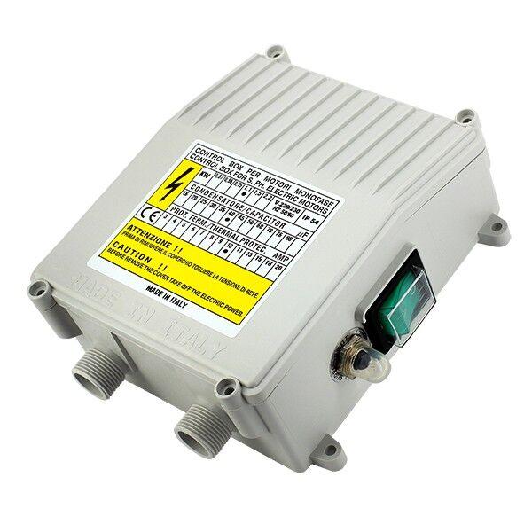 DAB Coffret électrique pompe - Coffret de démarrage 40 µf 10 A - DAB