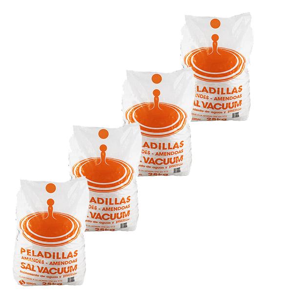 Générique Adoucisseur d'eau - Sel adoucisseur - 4x25 kg - Générique