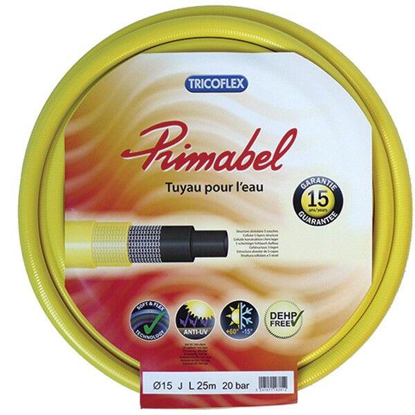 Tricoflex Tuyau arrosage - Tuyau PRIMABEL 15mm - 25m - Tricoflex