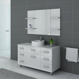 Distribain Meubles salle de bain IMPERIAL Blanc - Publicité