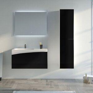 Distribain Meuble salle de bain CAGLIARI 900 Noir - Publicité
