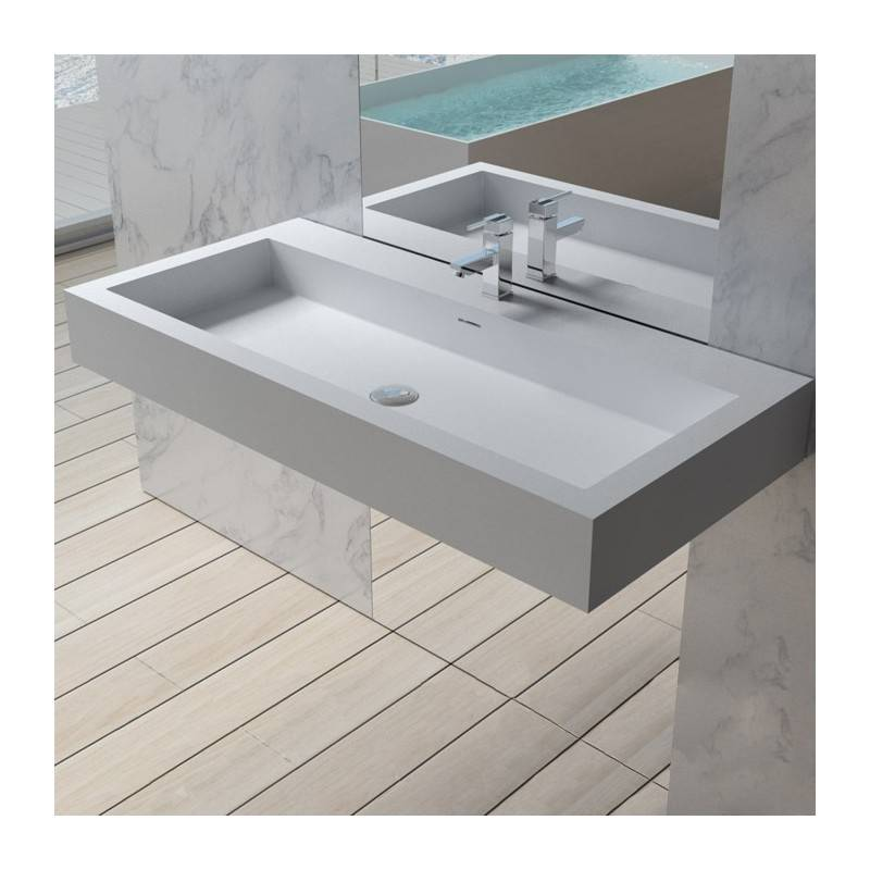 Distribain Plan vasque solid surface Réf : SDPW83
