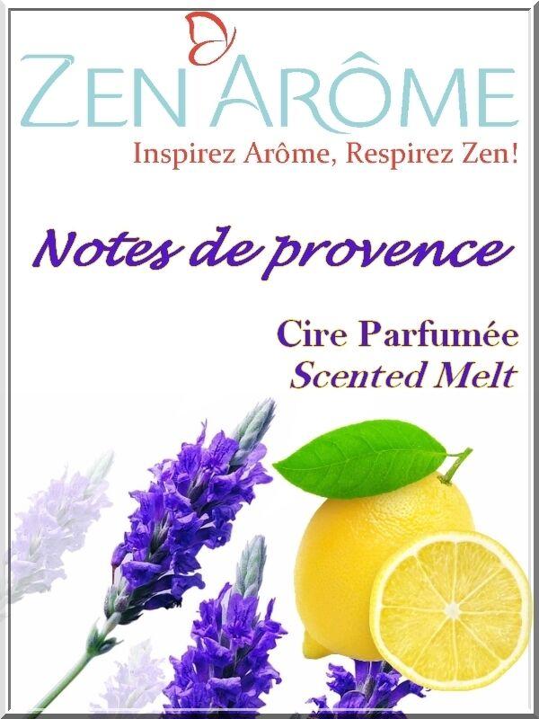 Sante Bio Europe Cire parfum notes de provence
