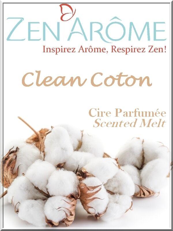 Sante Bio Europe Cire parfum Clean Coton