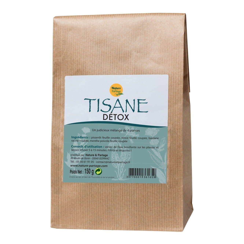 Sante Bio Europe Tisane Détox 4 plantes - 150 g