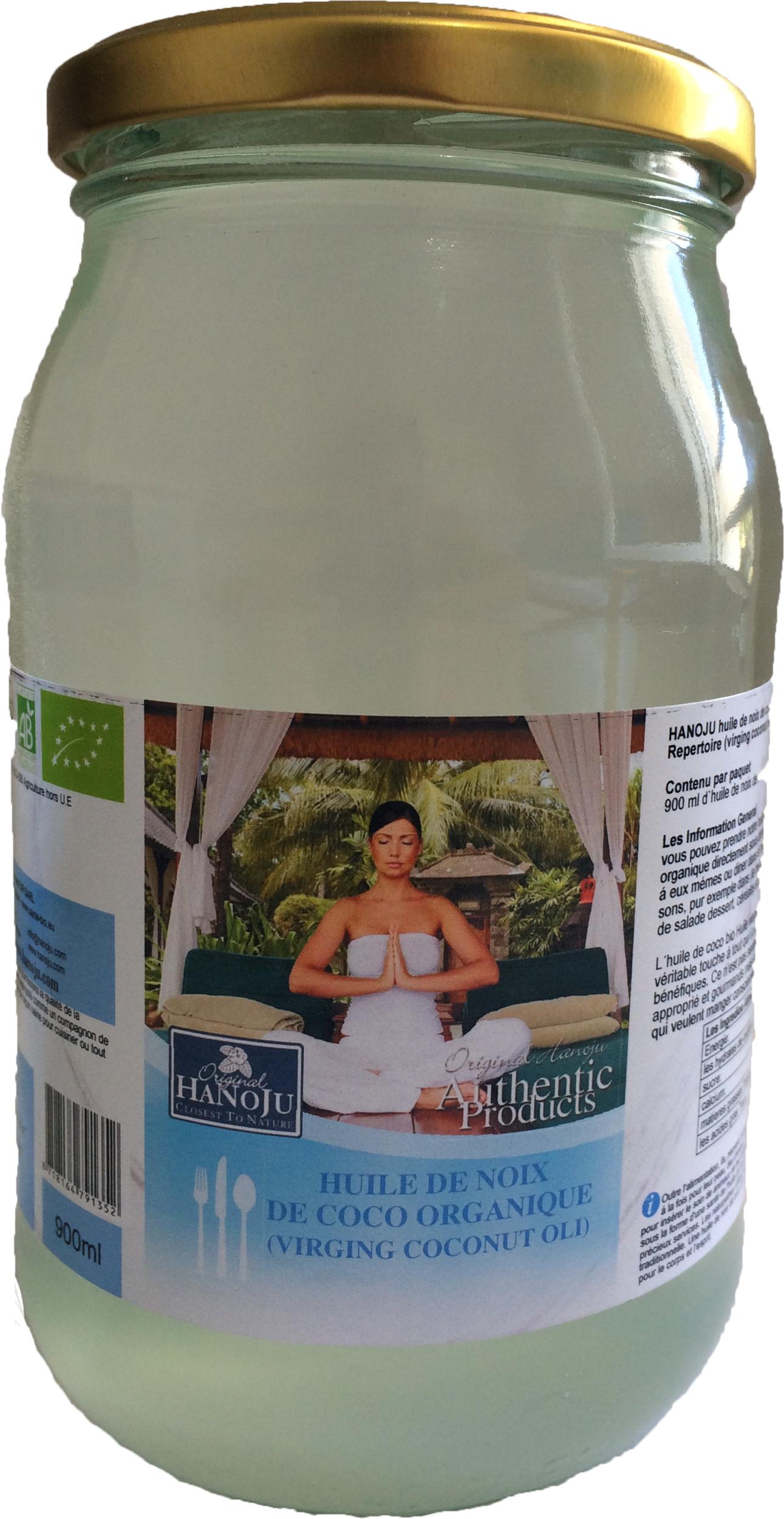 Sante Bio Europe Huile de Noix de Coco Vierge Biologique - 500 ml