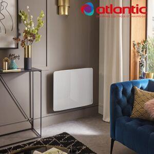 ATLANTIC Radiateur électrique Atlantic DIVALI Premium Horizontal Blanc 1500W Lumineux - 507637 - Publicité