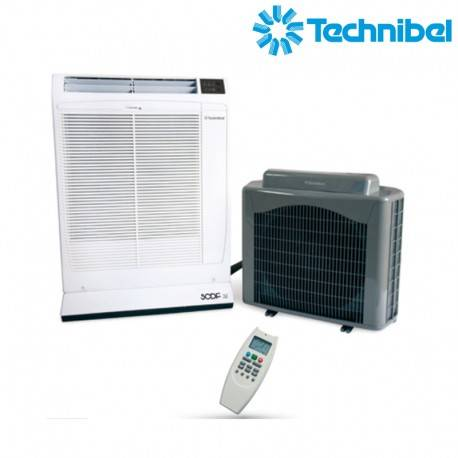 TECHNIBEL Climatiseur mobile Split déconnectable - Technibel SCDF32C5I