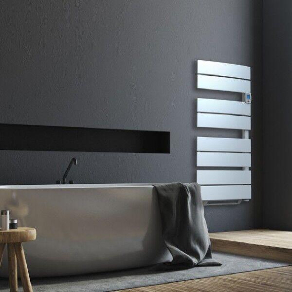 AIRELEC Seche serviettes soufflant electrique MOOREA EOLE 1280W (480W + 800W) largeur 45cm - A693914 AIRELEC