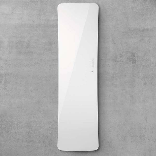 ACOVA Radiateur seche-serviettes electrique FOLIO GLASS Blanc Brillant 800W - TFGW-080-052/F ACOVA
